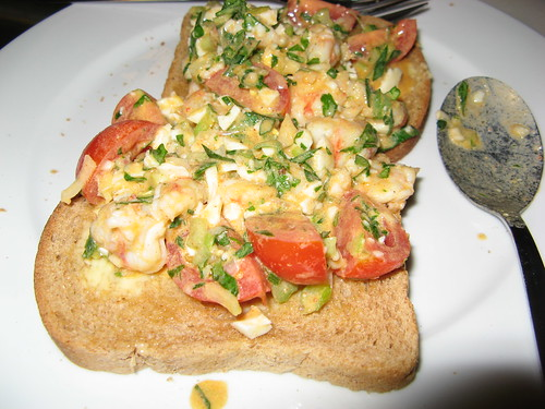 Rock Shrimp Toast
