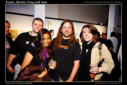 Frasier, Bernie, Greg and Amy