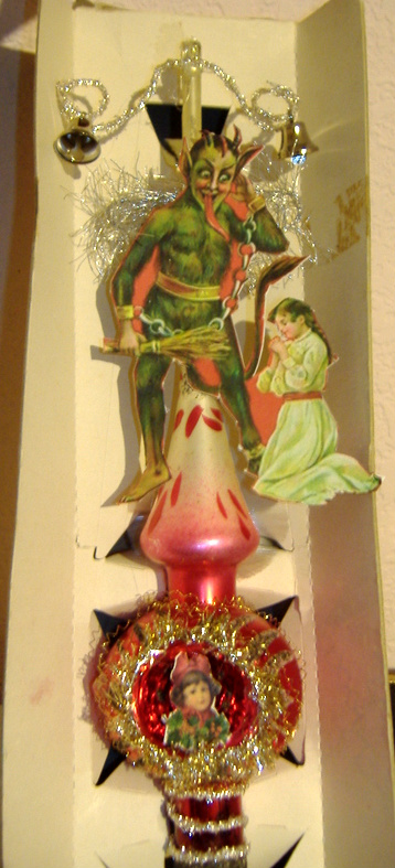 New tree ornament creation: a Krampus Tree-Topper