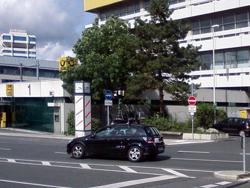 StreetView-Auto in Wuppertal