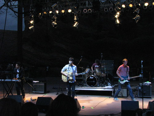 Vampire Weekend @ Monolith Festival, Red Rocks 09/12/08
