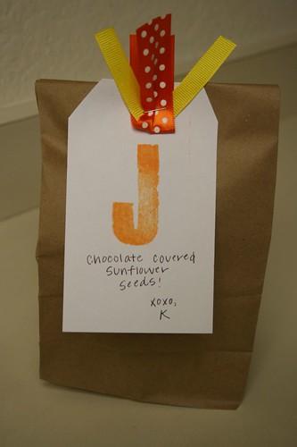 Jars of Renewal: Chocolate Covered Sunflower Seeds