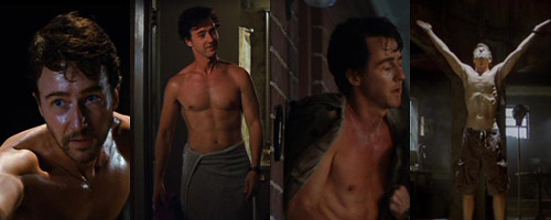 Ed Norton Shirtless