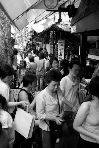 busy chatuchak weekend market, bangkok