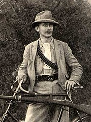 Guns on bikes