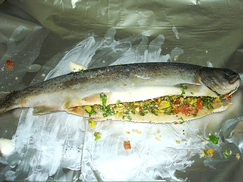 Stuffed Trout