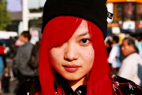 japanese Halloween red hair