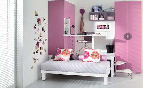 Gambar Rak Buku Minimalis kamar anak a simple clean and modern style 500x308