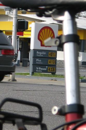 $4.01 per gallon in Palo Alto!