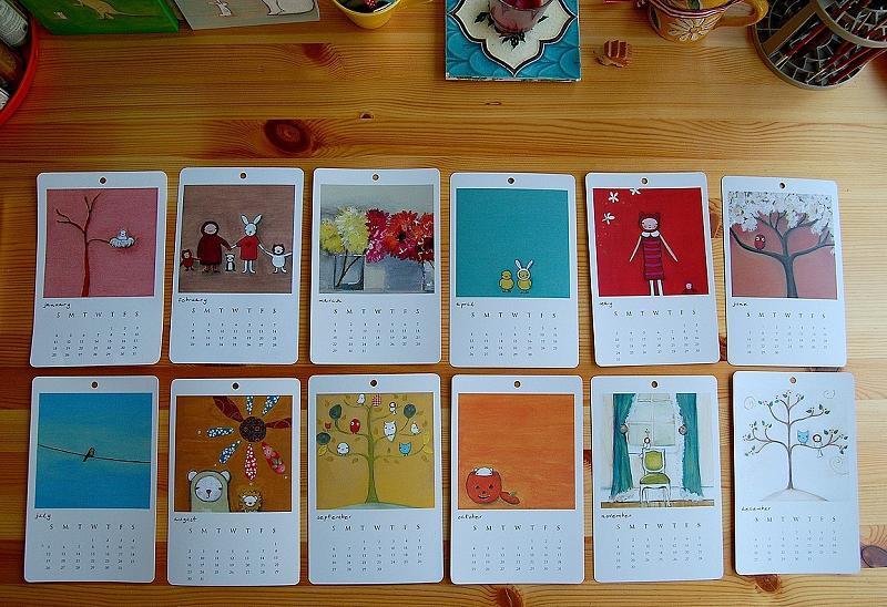 2009 Calendar Round Up \u2014 decor8