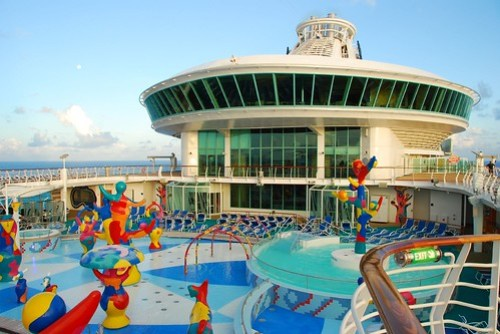 Liberty of the Seas - splash area for kids