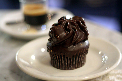 rocky road cupcake