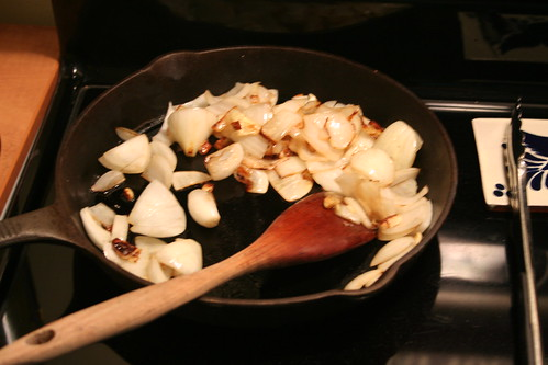 sauteed onions and garlic make life better
