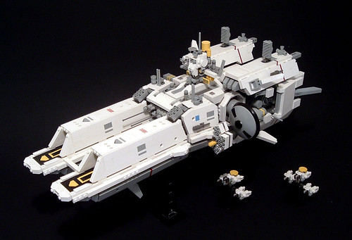 LEGO microscale Fleet Carrier Endurance