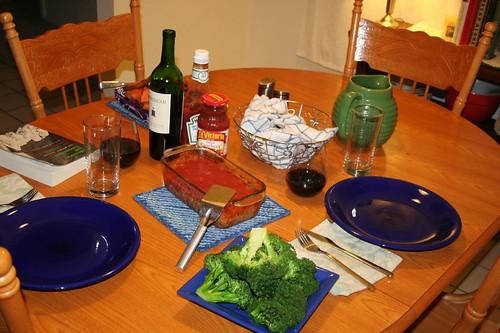 Dinner: 2-2-09