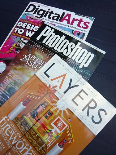 webdesign graphic magazines