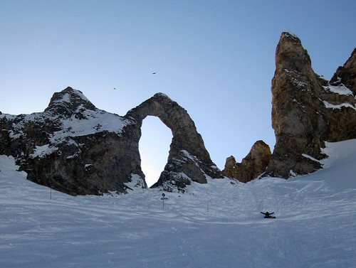 Eye of the Needle - Tignes by andygeog, via Flickr Espace Killy - land form