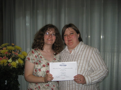 Our Wedding Certificate
