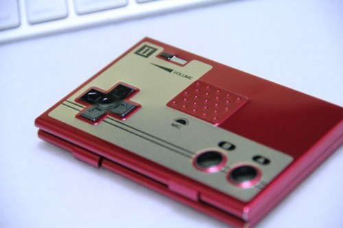 NES Card Case Buttons
