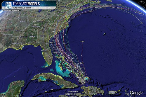 Tropical Storm Hanna at 11PM 09/02: Forecast Models