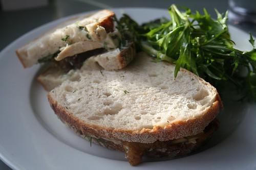 pork belly sandwich at Konstam