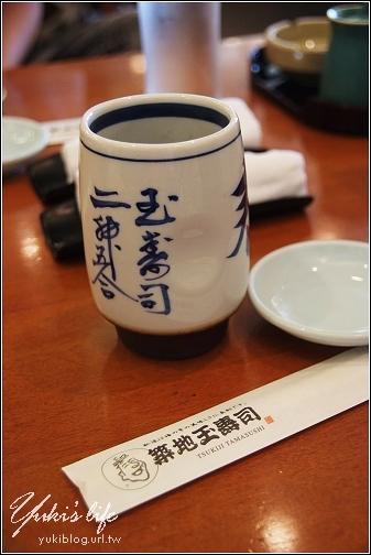 [08東京假期]*C22台場 築地玉壽司 (美味.大推) Yukis Life by yukiblog.tw