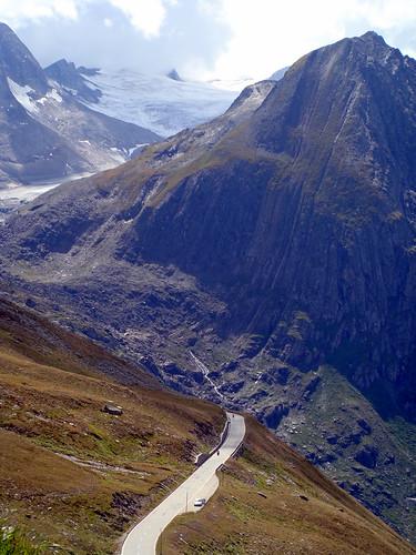 Cycling Nufenen Pass