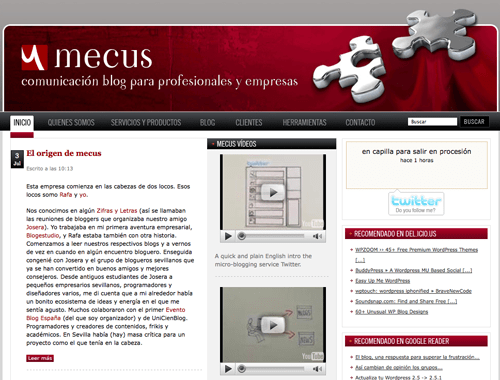 Mecus screenshot