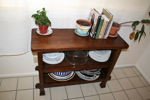 Side table, before