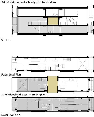 Unité d´Habitation Marseille Art 101- Modern Architecture and - fresh construction blueprint reading certification
