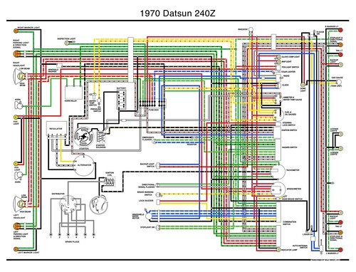 1970 Datsun 240z Wiring Diagram - a photo on Flickriver