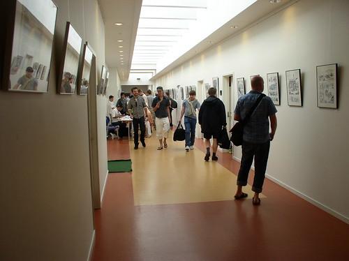 Stemningsbillede fra komiks.dk 2008