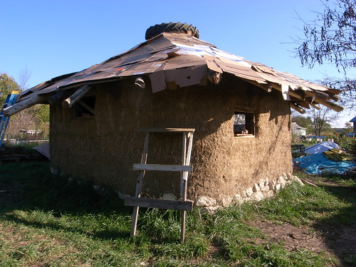 cardboard-roof