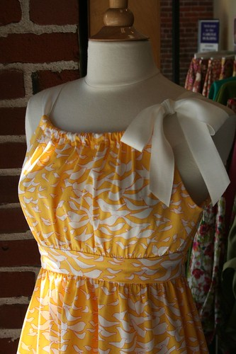 Pretty Vogue Dress in the window at Josephine's