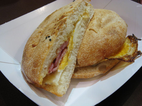 Melbourne airport breakfast