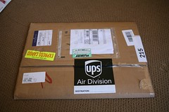 Shipment from Ponoko