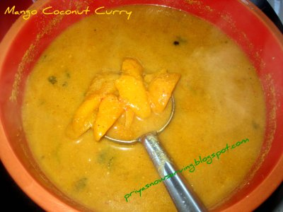Mango Coconut Curry
