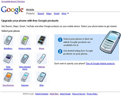 Google Mobile