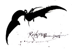 Holy MOLY!  Ralph Steadman blesses Bat Country