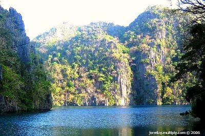 Cayangan Lake - Coron Islands, Palawan