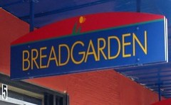 bread garden - the signage