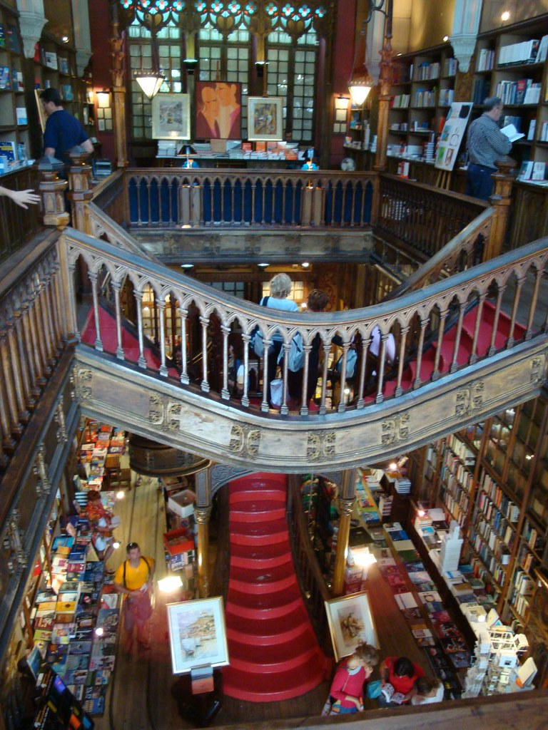 Librería Lello E Irmao The World S Best Photos Of Irmao And Libreria Flickr Hive Mind