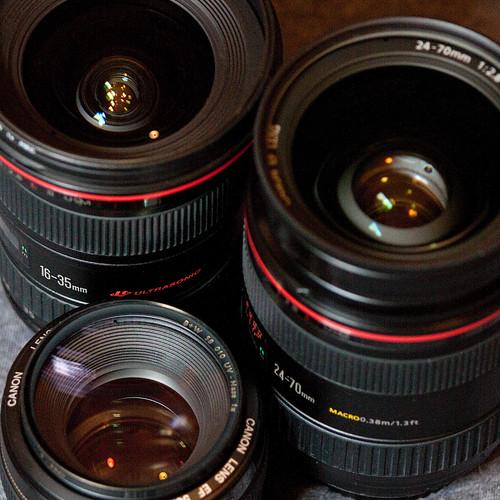 lens lense lenses Canon choose compare difference aperture