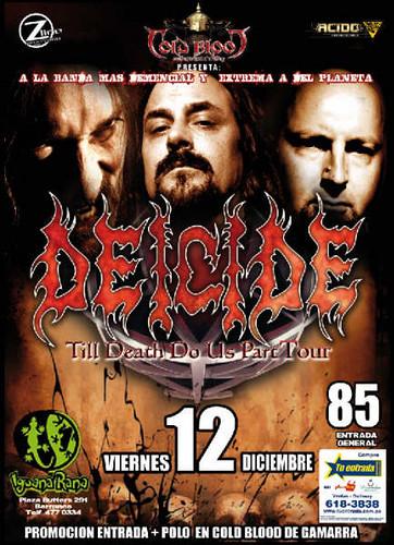 Deicide en Peru 2008