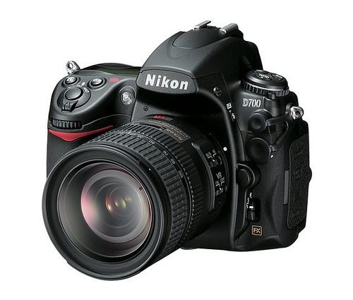Nikon D700 3/4 view
