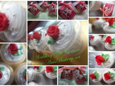 cupcakes wedding gift