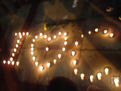 People's Square Candlelight Vigil
