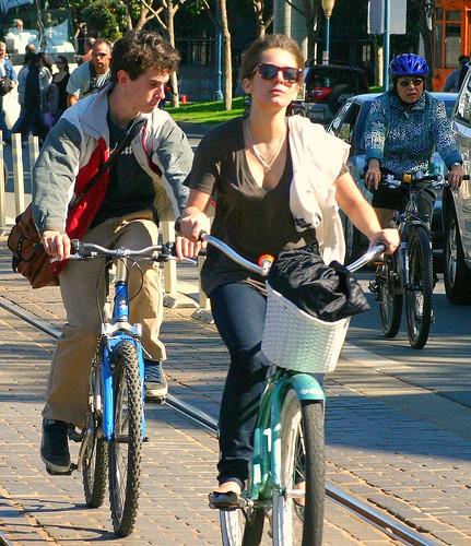 San Francisco cyclists