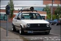VWVortex.com - Pic Request: mk2 with roof rack basket