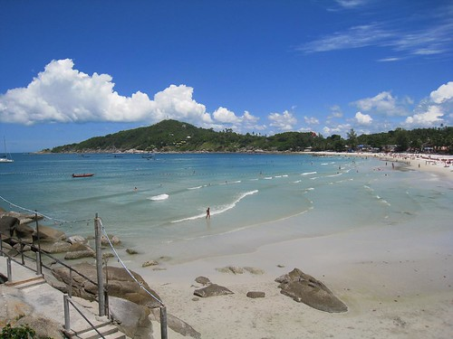 Beautiful weather on Haad Rin, Kho Phangan